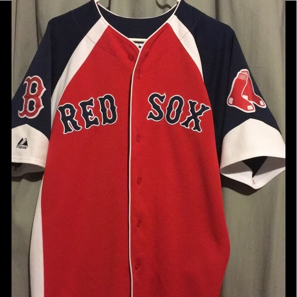 reputable site 54556 7e21f Jacoby Ellsbury Red Sox Jersey